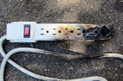 Burned Electrical Wiring